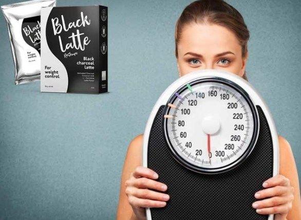 Black Latte drink extra ponden brandend